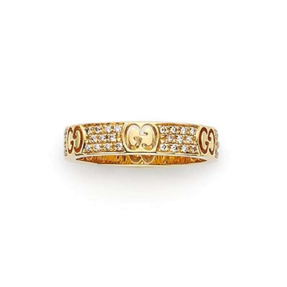 65a509adc 18ct Yellow Gold & Brown Diamond Icon Stardust Ring