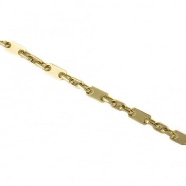 18ct Yellow Gold Heavy Links Bracelet