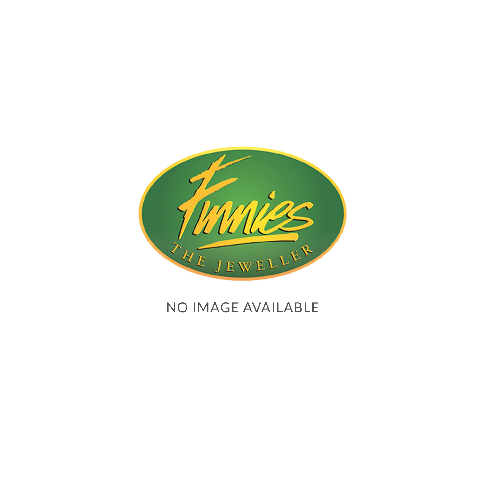 9ct White & Yellow 8mm Wide Linned Bangle