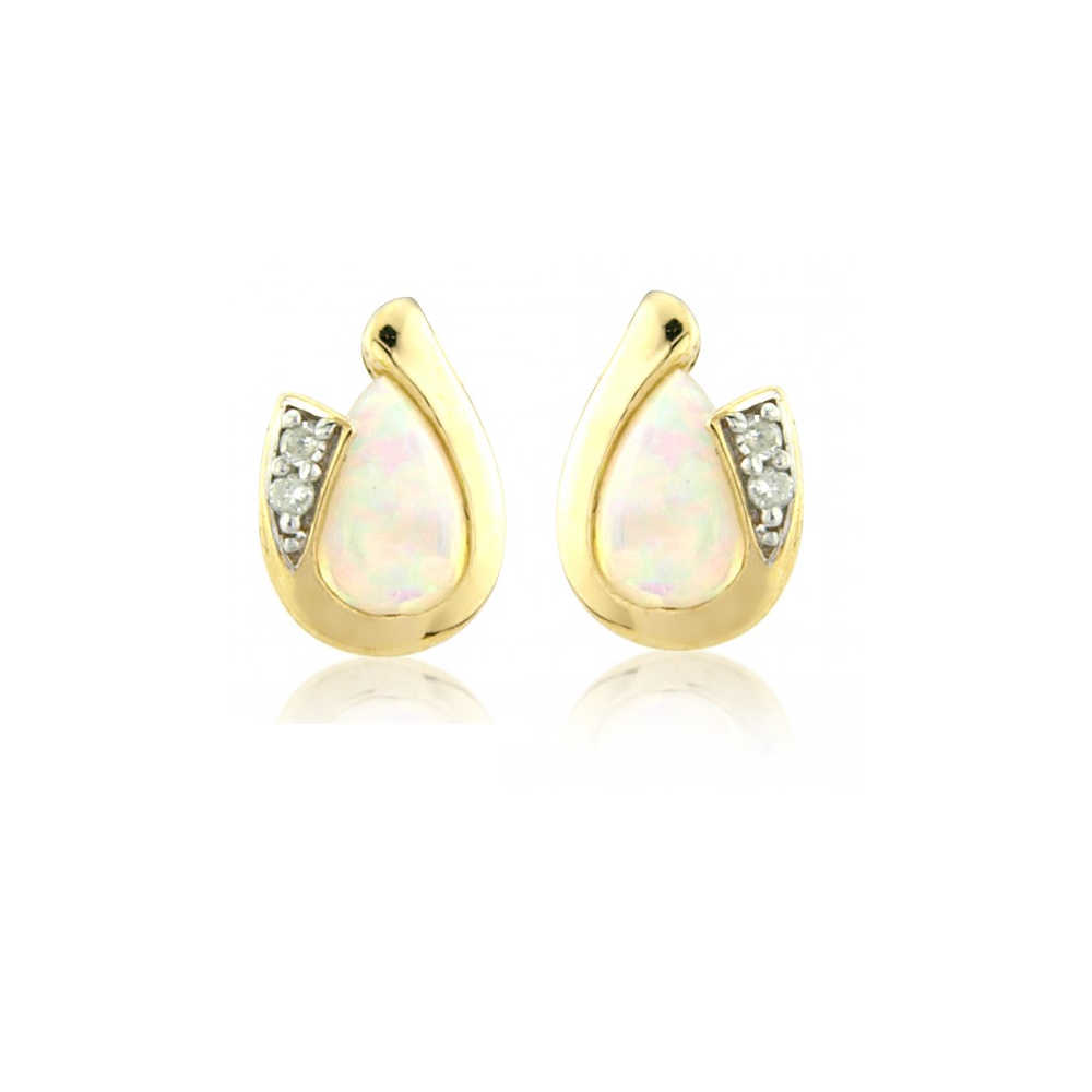 mainwh shape pear setting gold earrings carat shaped diamond stud prong