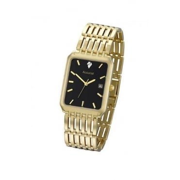 9ct gold bracelet watch