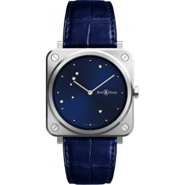 ecda8933e BR S Blue Diamond Eagle Steel Strap Watch · Bell & Ross ...