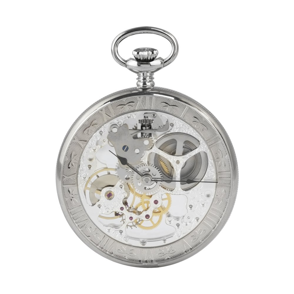 bernex skeleton pocket watch