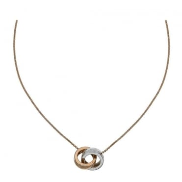 Chopardissimo White & Rose Gold Pendant