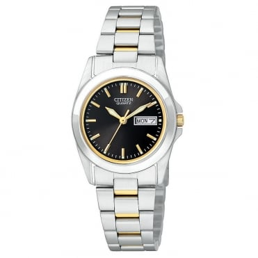 Ladies Two Tone Bracelet Watch