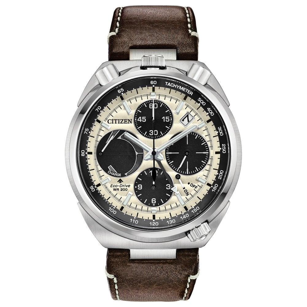 c19d3309fdf Promaster Bullhead Racing Chronograph Stainless Steel Strap Watch