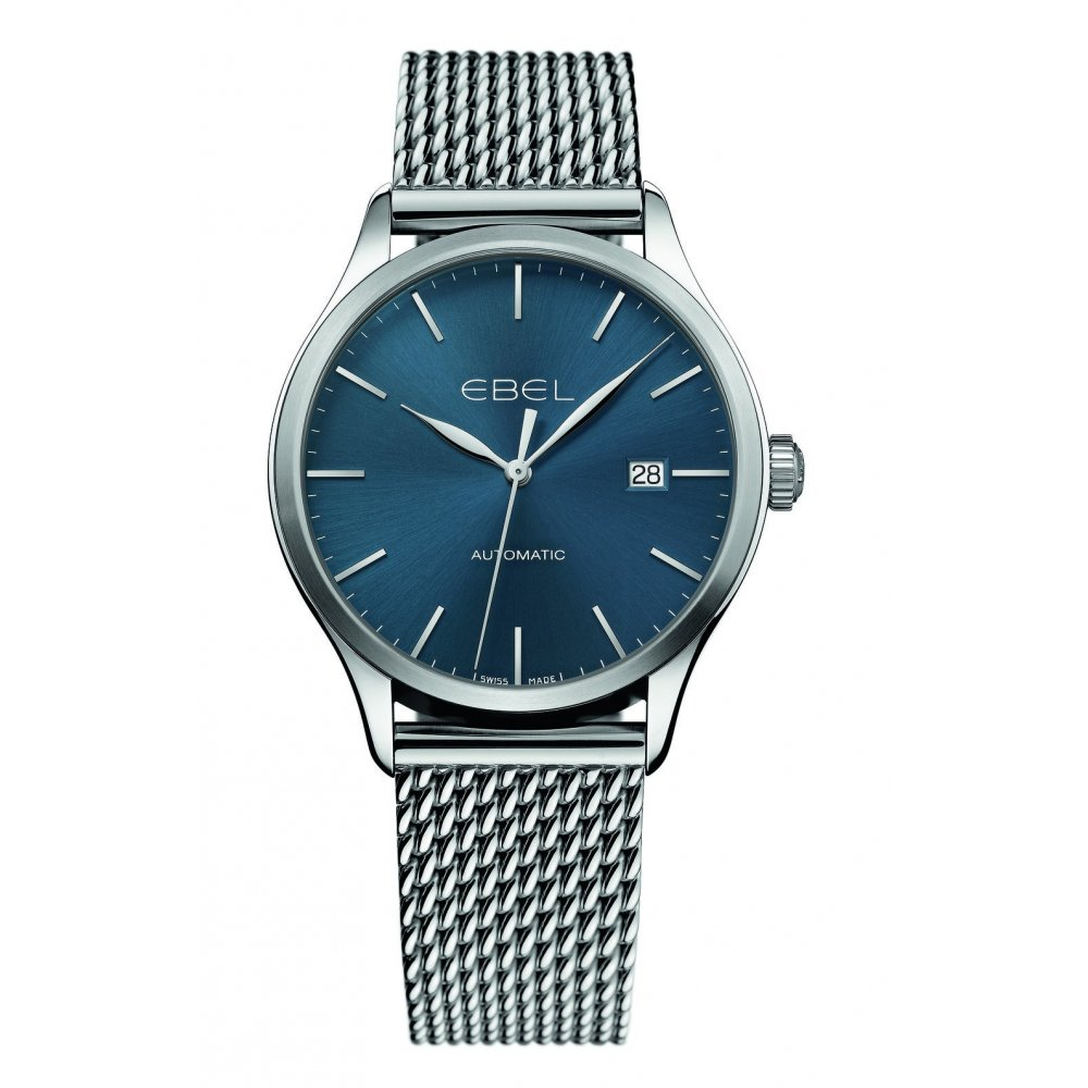 ebel 100 classic stainless steel bracelet watches