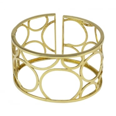 18ct Yellow Gold Large Cuff