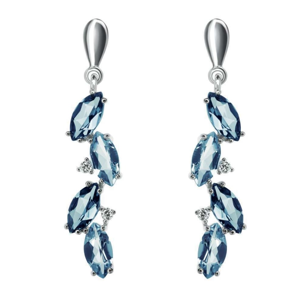 topaz finnies marquise earrings the gold image blue dark shaped jewellers light white uncategorised