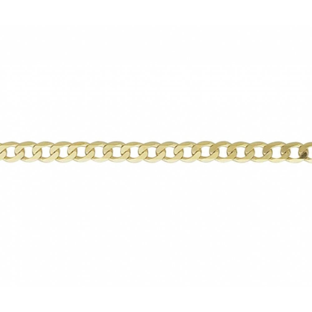 5a8b5a835c63d Finnies The Jewellers 9ct Yellow Gold Filed Curb Chain