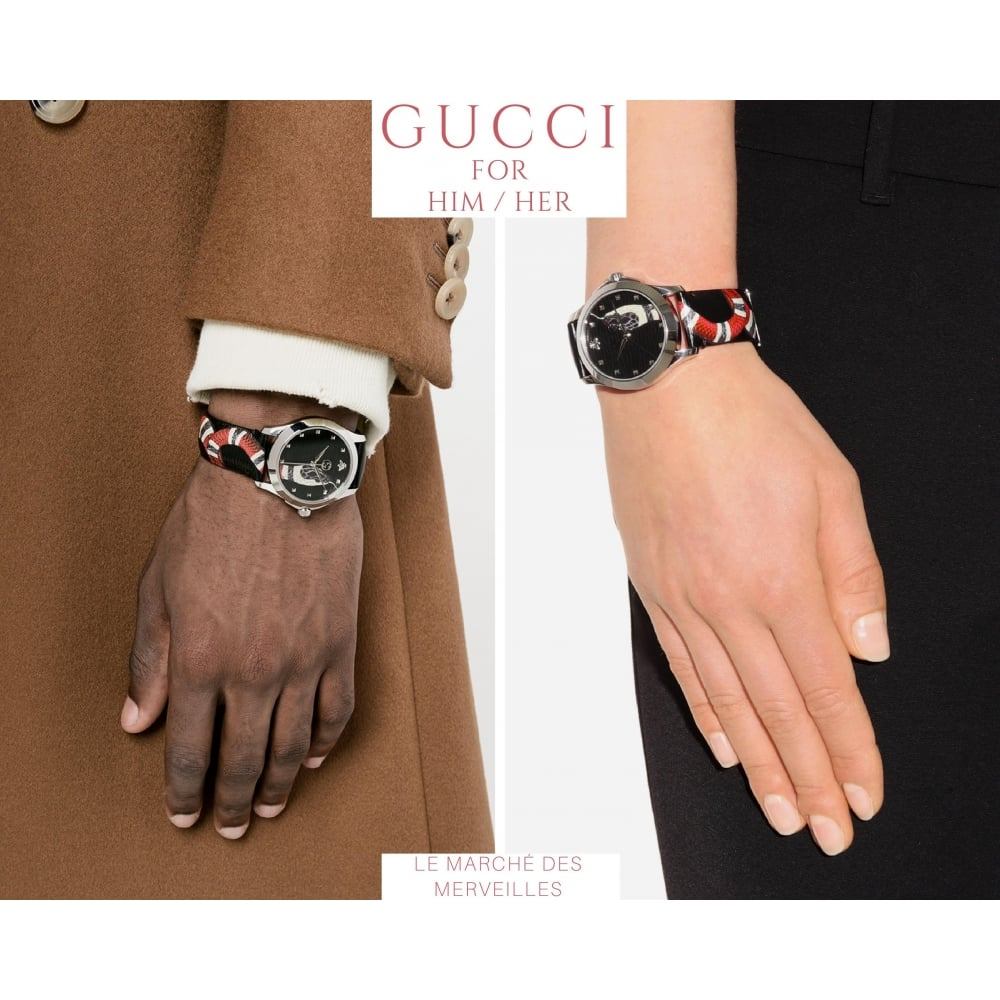 f2d480c6faf Gucci Le Marché des Merveilles  Snake  - Watches from Finnies the ...