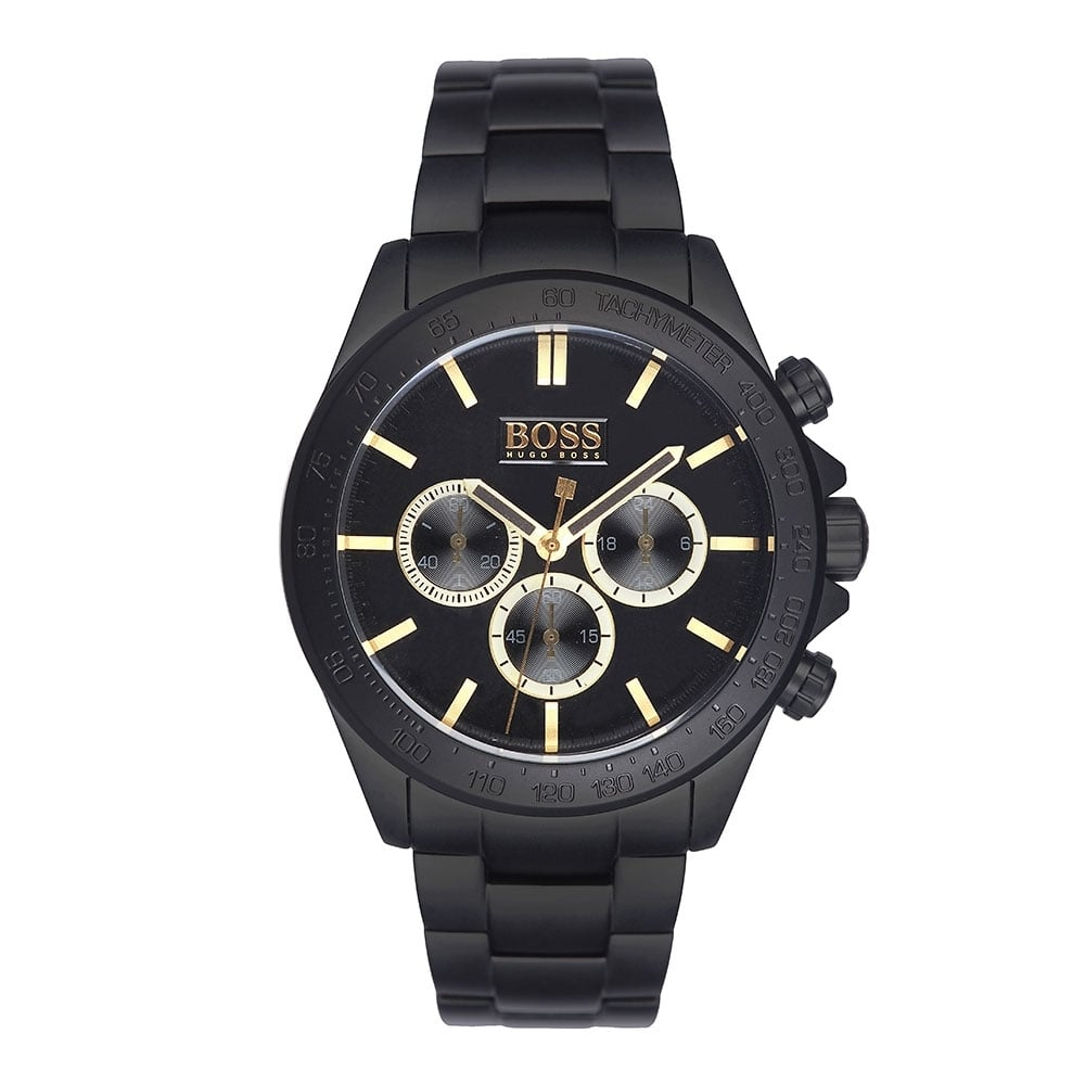hugo boss chronograph bracelet watch watches from. Black Bedroom Furniture Sets. Home Design Ideas