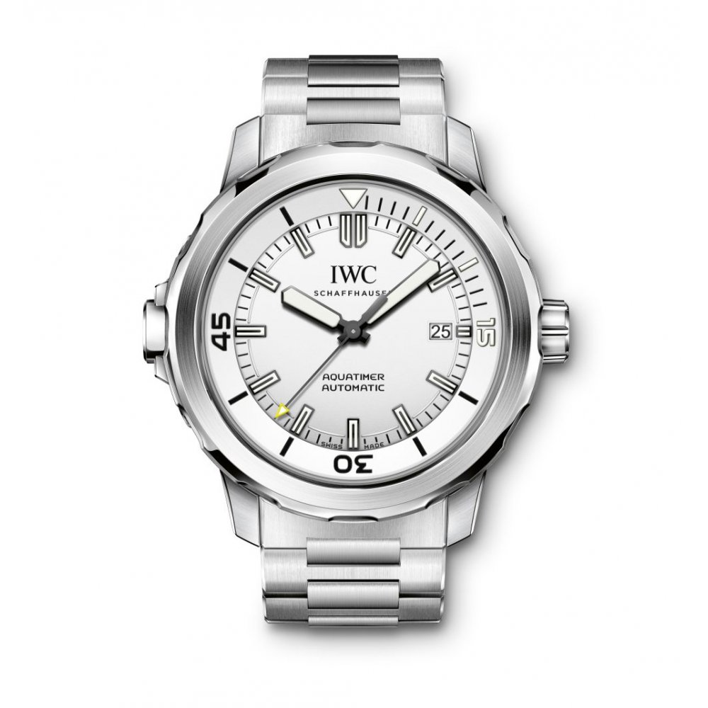 iwc schaffhausen aquatimer automatic watches from. Black Bedroom Furniture Sets. Home Design Ideas
