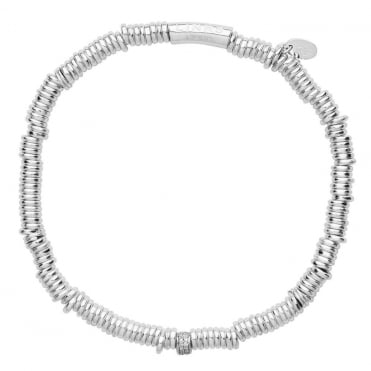 Links of London Silver &Pave`Set Diamond Sweetie XS Bracelet