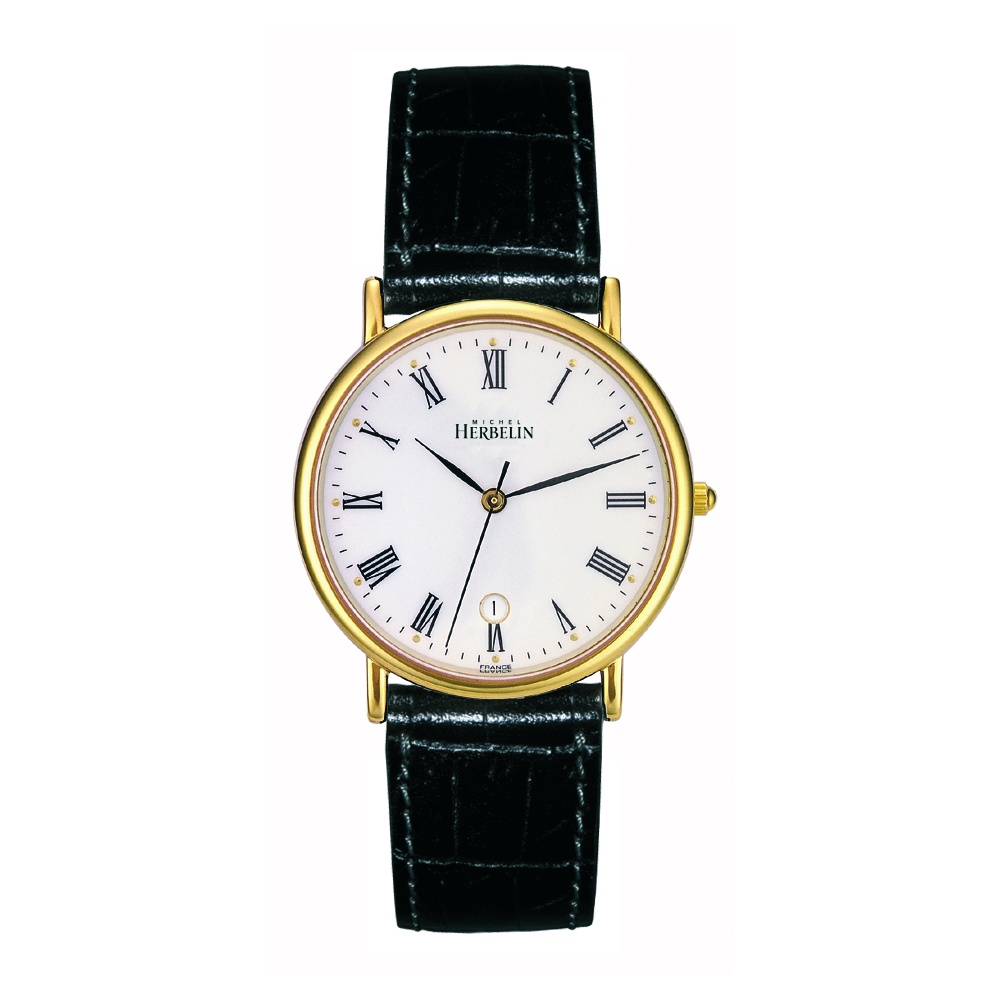 michel herbelin gold plated sonates watches