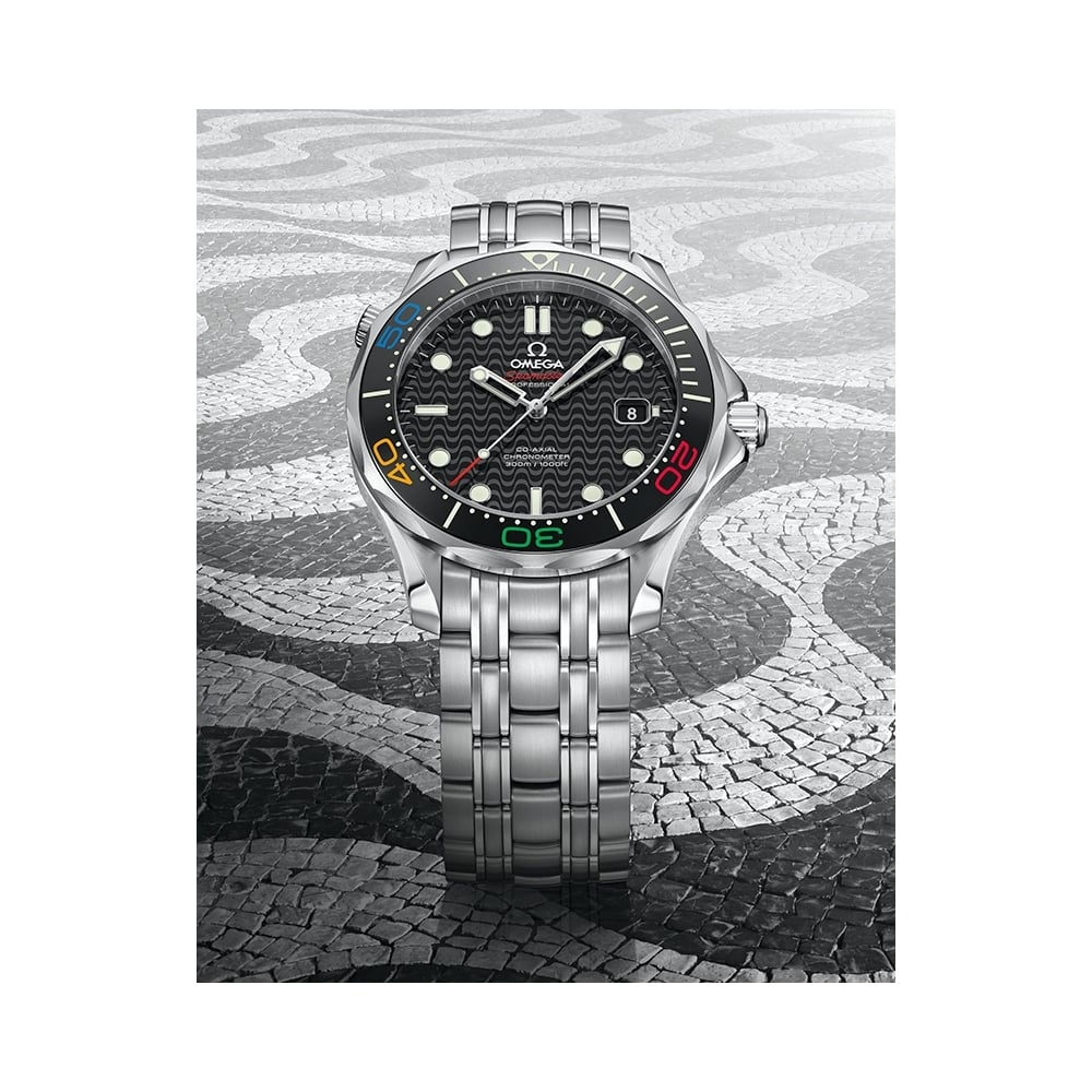 Omega seamaster diver 300 39 rio 2016 39 limited edition - Omega dive watch ...