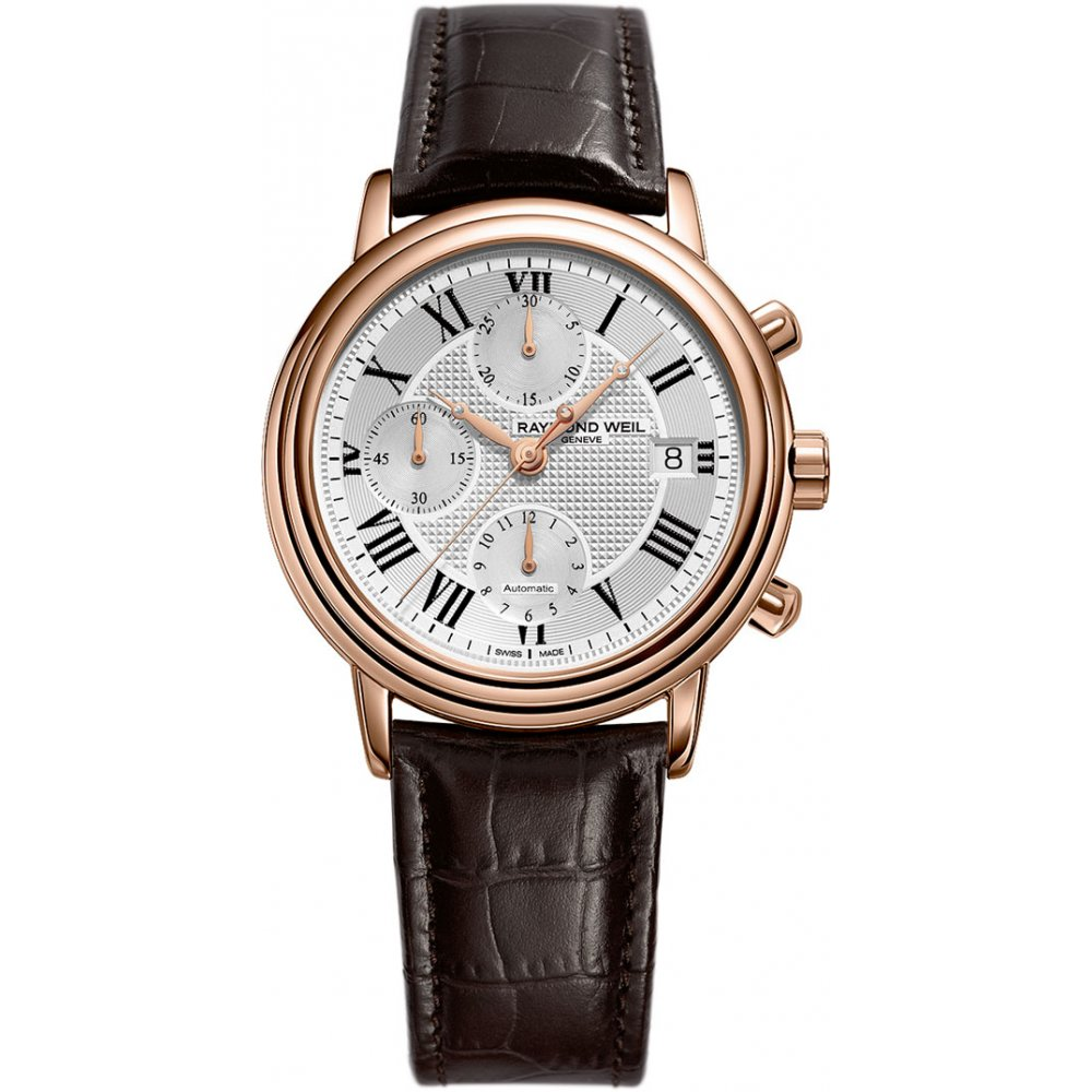 Raymond Weil Maestro Chronograph Watch From Finnies The Jewellers UK