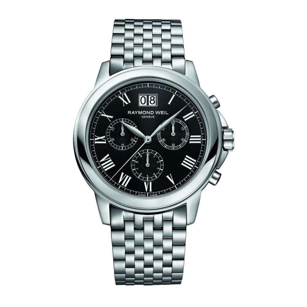 Raymond Weil Tradition Chronograph Stainless Steel Bracelet Watch