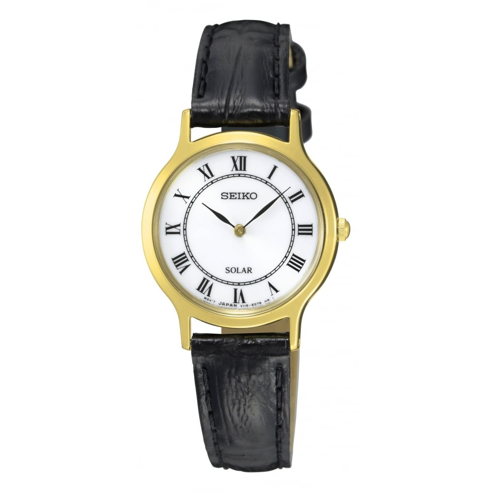 seiko solar gold plated watches from finnies
