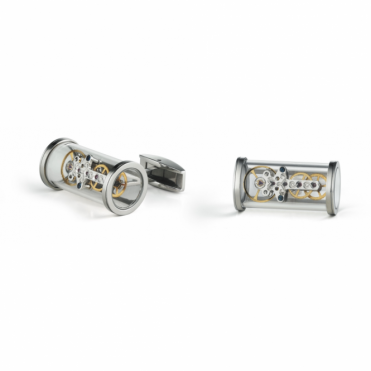 T-Mechanic open side cufflinks